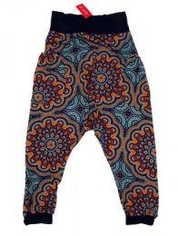 Pantalón hippie tipo Mod Gris