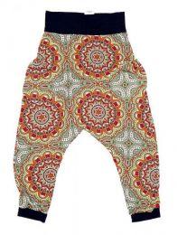 Pantalones Hippies Largos - Pantalón hippie tipo PASN05 - Modelo Verde