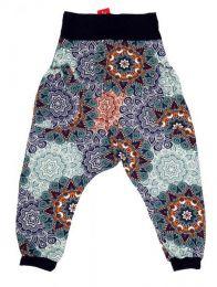 Pantalón hippie tipo Mod Morado