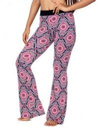 Pantalones Hippie Harem - Pantalon hippie estampado mandalas [PASN10] para comprar al por mayor o detalle  en la categoría de Ropa Hippie Alternativa para Mujer.