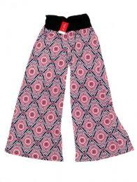 Pantalón amplio hippie Mod Rosa