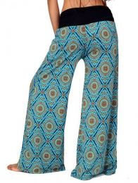 Pantalones Hippies Harem Boho - Pantalón amplio hippie PASN11.
