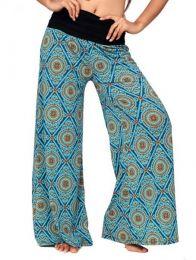 Pantalones Hippie Harem - Pantalon hippie estampado mandalas [PASN11] para comprar al por mayor o detalle  en la categoría de Ropa Hippie Alternativa para Mujer.
