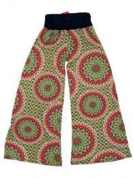 Pantalón amplio hippie Mod Verde