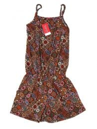 Printed short jumpsuit Mandalas PASN13 to buy in bulk or in detail in the category of Alternative Hippie Accessories.
