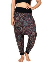 Hippie Harem Pants - Mandala print hippie pants [PASN17] to buy wholesale or detail in the category of Hippie Clothing for Women.
