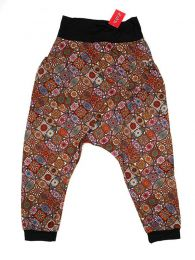 Hippie trousers printed mandalas PASN18 to buy in bulk or detail in the Handicrafts category.