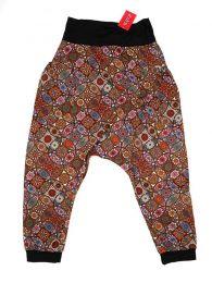 Pantalones Hippie Harem - Pantalón hippie tipo PASN18 - Modelo Naranja