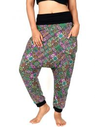 Pantalones Hippie Harem - Pantalón hippie tipo PASN18.
