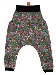 Pantalones Hippie Harem Boho - Pantalón hippie tipo PASN18 - Modelo Verde