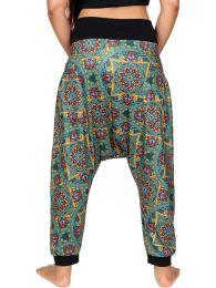 Pantalones Hippie Harem - Pantalón hippie tipo PASN19.