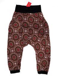 Pantalones Hippies Harem Boho - Pantalón hippie tipo PASN21 - Modelo MarrÓn