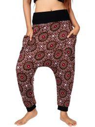 Pantalones Hippies Harem Boho - Pantalón hippie tipo PASN21.