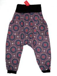 Pantalones Hippies Harem Boho - Pantalón hippie tipo PASN21 - Modelo Azul