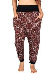Hippie trousers with mandala print [PASN21]. Hippie Harem Pants to buy wholesale or detail in the category of Alternative Hippie Clothing for Women.