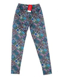 Pantalones Hippie Harem Boho - Pantalón hippie tipo PASN23 - Modelo Azul