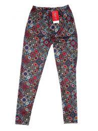 Pantalones Hippie Harem Boho - Pantalón hippie tipo PASN23 - Modelo Rojo