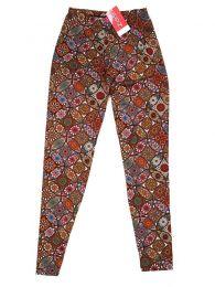 Pantalones Hippie Harem Boho - Pantalón hippie tipo PASN23 - Modelo Naranja
