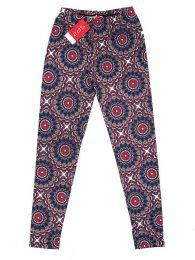 Pantalones Hippie Harem Boho - Pantalón hippie tipo PASN24 - Modelo Azul