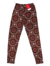 Pantalones Hippie Harem Boho - Pantalón hippie tipo PASN24 - Modelo Marrón