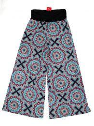Pantalon hippie imprimé mandalas PASN26 pour acheter en gros ou en détail dans la catégorie des Accessoires Hippie Alternatifs.