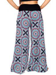 Pantalones Hippie Harem - Pantalón de pata amplia PASN26.