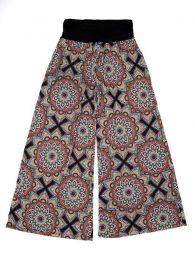 Calças hippie estampadas com mandala PASN26 para comprar por atacado ou detalhes na categoria de Acessórios Alternativos Hippie.