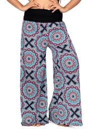 Hippie trousers with mandala print [PASN26]. Hippie Harem Pants to buy wholesale or detail in the category of Alternative Hippie Clothing for Women.