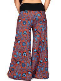Pantalones Hippies Harem Boho - Pantalón de pata amplia PASN27.