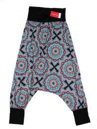 Pantalon hippie estampado mandalas grandes PASN28 para comprar al por mayor o detalle  en la categoría de Artículos Artesanales.