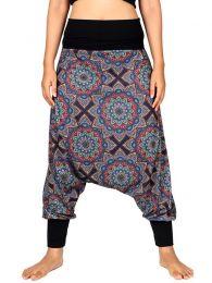 Pantalones Hippies Harem - Pantalón hippie tipo PASN28.