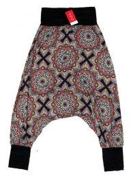 Pantalon hippie estampado mandalas grandes PASN28 para comprar al por mayor o detalle  en la categoría de Complementos Hippies Alternativos.