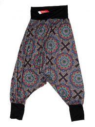 Hippie-Hose mit großen Mandalas PASN28 zum Kauf in loser Schüttung oder im Detail in der Kategorie Alternative Ethnic Hippie Costume.