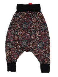 Pantalones Hippies Harem Boho - Pantalón hippie tipo PASN29 - Modelo Negro