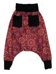 Pantalon hippie estampado mandalas grandes PASN29 para comprar al por mayor o detalle  en la categoría de Ropa Hippie Alternativa para Mujer.