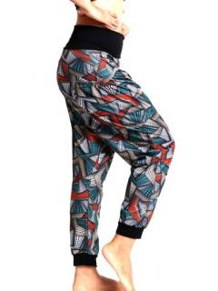 Pantalones Hippies Harem Yoga - Pantalón hippie tipo PASN31.