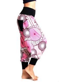 Pantalones Hippies Harem Yoga - Pantalón hippie tipo PASN34.