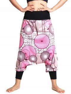 Pantalon hippie imprimé ethnique, pour acheter en gros ou détail dans la catégorie Vêtements Hippie Femme | Magasin alternatif ZAS. [PASN34]