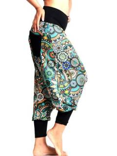 Pantalones Hippies Harem Yoga - Pantalón hippie tipo PASN38.