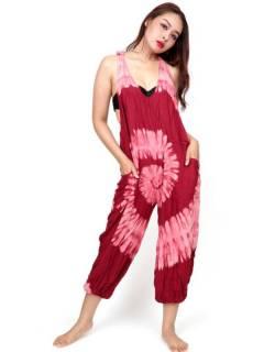 Monos y Petos / Vestidos largos - Peto largo Tie dye muy confortable PATO01.