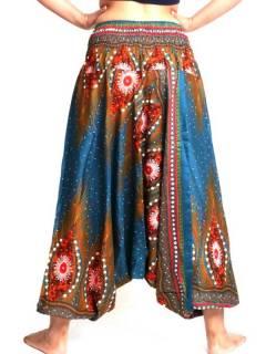 Pantalones Hippies Harem Yoga - Pantalón hippie ancho PAVA04.