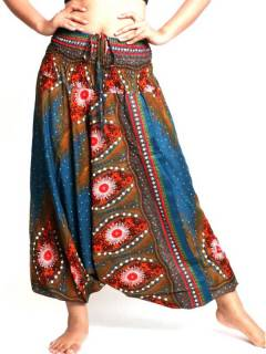 Pantalon Aladin imprimé Ethnico, pour acheter en gros ou détail dans la catégorie Vêtements Hippie Femme | Magasin alternatif ZAS. [PAVA04]