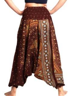Pantalones Hippies Harem Yoga - Pantalón hippie ancho PAVA05.
