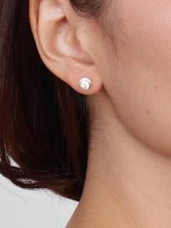Ojo de Shiva - Plata - Pendientes fabricados en plata PEOJ10.