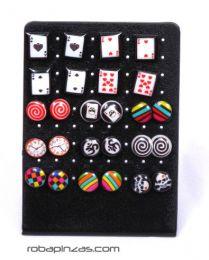 Boucles d'oreilles à fermeture en silicone PESI5 pour acheter en gros ou en détail dans la catégorie Alternative Ethnic Hippie Jewelry and Silver | Boutique en ligne ZAS.