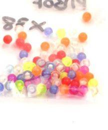 Piercing - Bolas de colores de diferentes PIBOF.