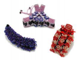 Pinzas para el pelo decoradas detalle del producto