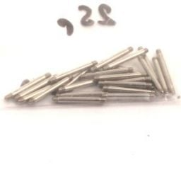 Piercing - Bars with a 1.2mm thread, available as a bar or for a lip [PIPAC2] to buy in bulk or in detail in the Piercing category Horn and Bone Dilators.