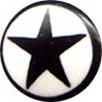 Plugs Madera Cuerno Hueso - Plug cuerno de búfalo estrella inlayed, tallas 14 mm a 22mm precio [PIPU1B] para comprar al por mayor o detalle  en la categoría de Piercing Dilatadores Cuerno y Hueso.