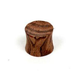 plug dilatador de madera detalle del producto